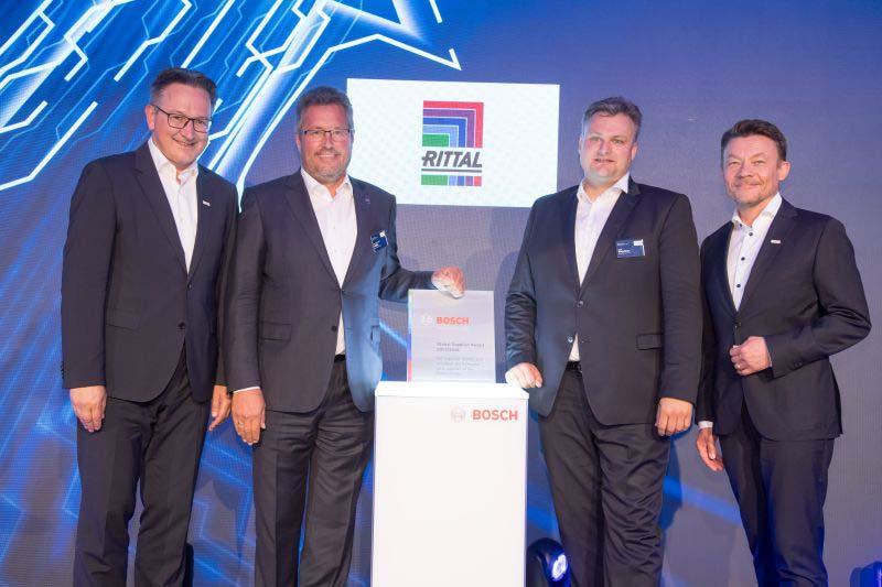 Rittal получи награда за глобален доставчик от <strong>Bosch</strong>