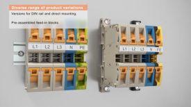 Надеждно и ефективно <strong>електрозахранване</strong> с редови клеми Klippon Connect A2C 35 от Weidmueller