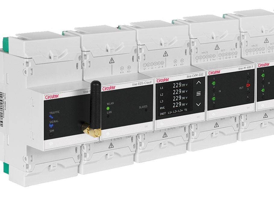 Интегрираната система за енергиен мениджмънт, поддръжка и управление LINE от Circutor