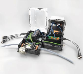 Модулна система FieldPower на Weidmueller
