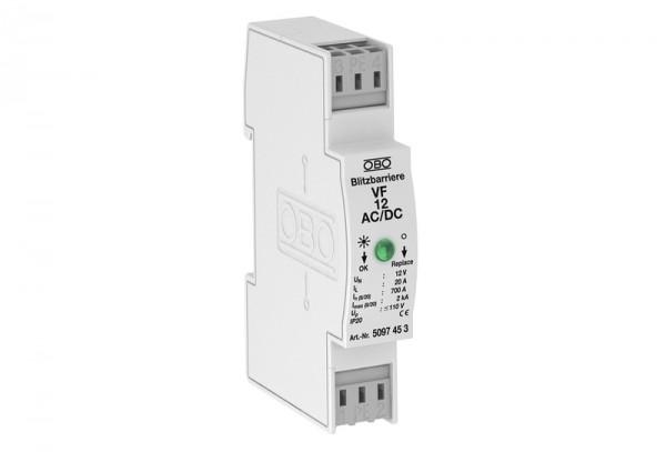 Защита MSR за 2-полюсно електрозахранване 12V