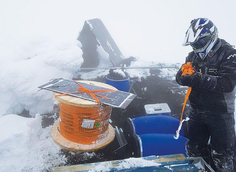 LAPP осигури кабели за мрежа от сеизмометри в исландски вулкан