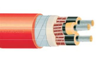 Силов брониран кабел средно напрежение