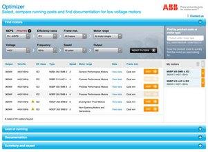 АББ представи инструмент за подбор и сравнение на ел. двигатели ниско напрежение