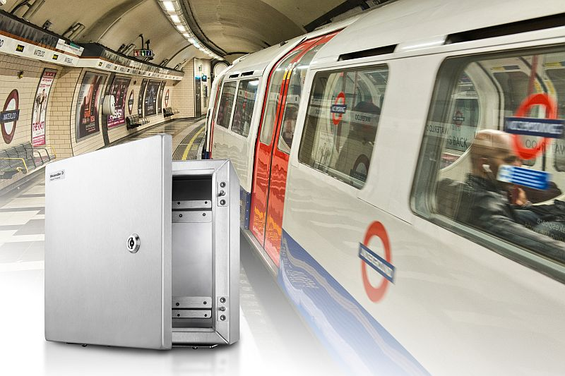 Weidmueller достави клемни кутии за модернизацията на метрото в Лондон