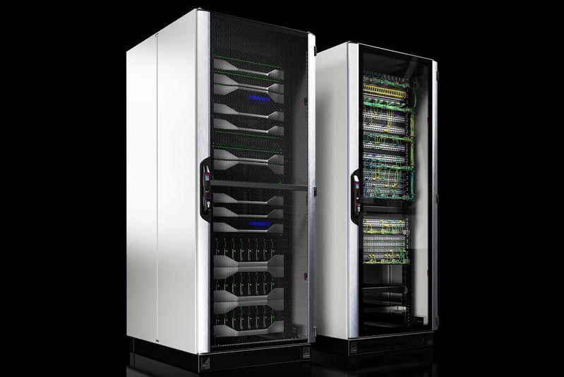 Rittal представя най-бързия IT шкаф в света