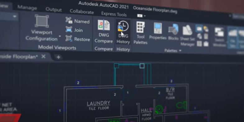 Представяне на AutoCAD 2021