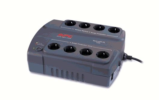 Непрекъсваеми токозахранващи устройства APC (UPS) модел APC Back-UPS 400 VA, 230 V от <strong>Schneider</strong> <strong>Electric</strong>
