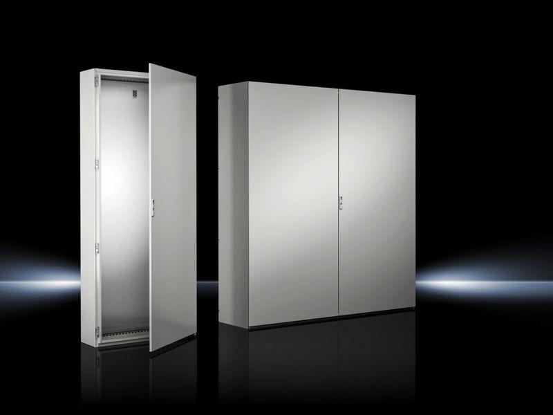 Rittal заменя системата SE 8 с новата моноблок шкаф система VX SE
