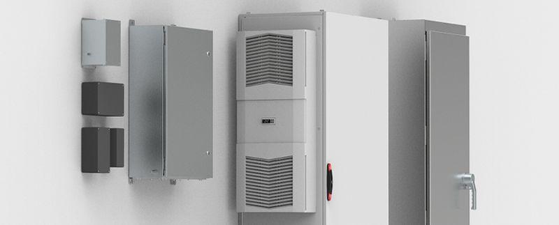 Нови табла и системи за климатизация на табла на nVent HOFFMAN