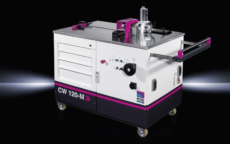 Система за огъване и пробиване на шини CW 120