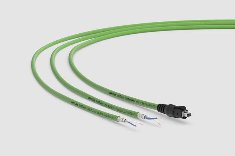 LAPP разширява гамата <strong>S</strong>ingle-pair Ethernet (<strong>S</strong>PE) кабели