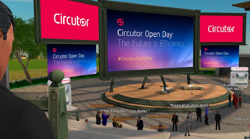 Днес Circutor провежда виртуален ден на отворените врати