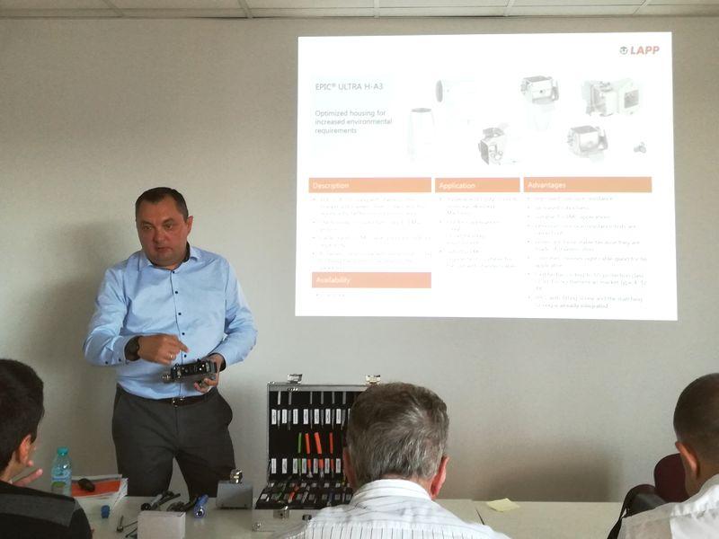 Иновации от Lapp бяха във фокуса на семинар на ВиВ Изоматик