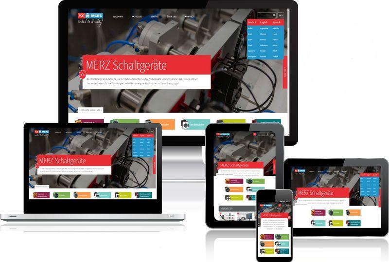 Merz представи обновения си фирмен сайт