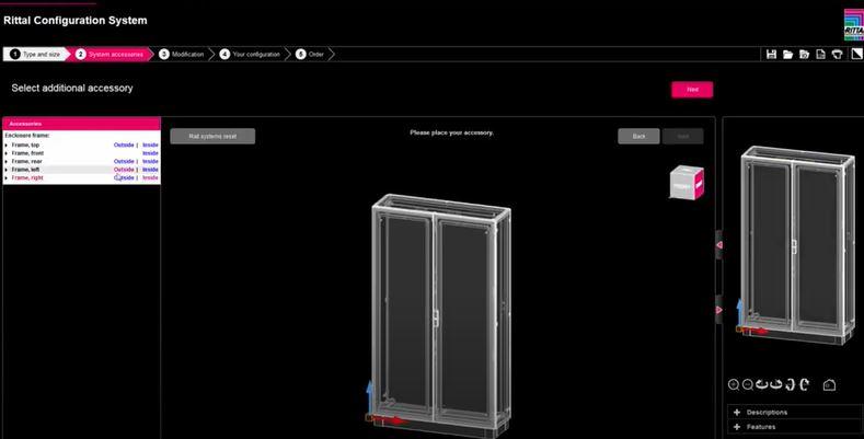 Онлайн конфигуратор RiCS на Rittal