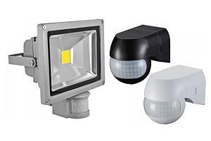 Нови LED прожектори с датчик за движение SOLID LED
