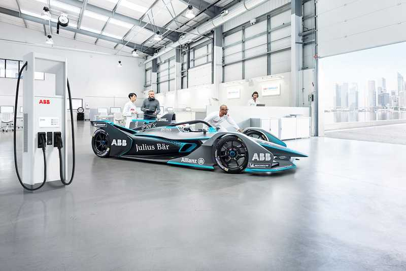ABB доставя зарядна инфраструктура за FIA ABB Formula E