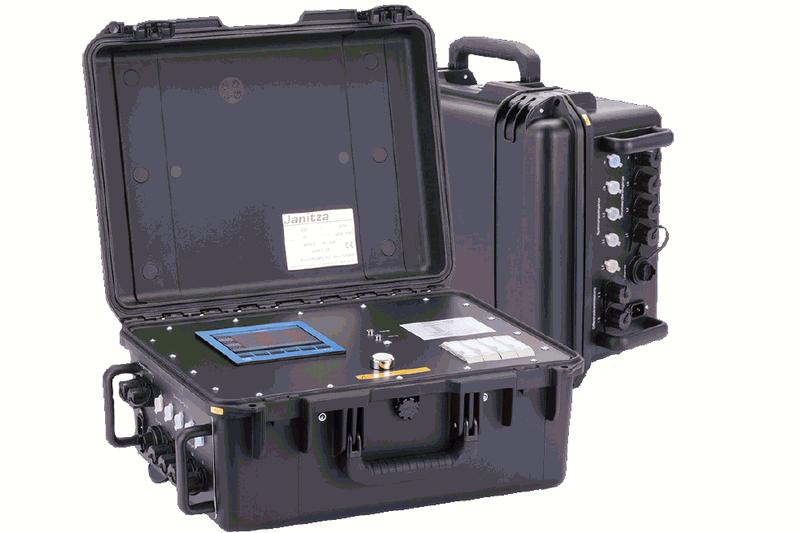 Мобилен мрежови анализатор за <strong>с</strong>ледене на каче<strong>с</strong>твото на електриче<strong>с</strong>ката енергия